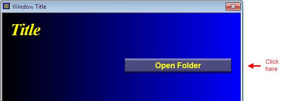 Open Folder button