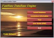 A menu shell created with SamLogic CD-Menu Creator