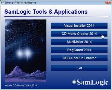 Click to view SamLogic CD-Menu Creator screenshots