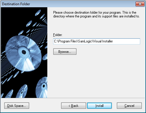 Picture - Setup dialog box 1