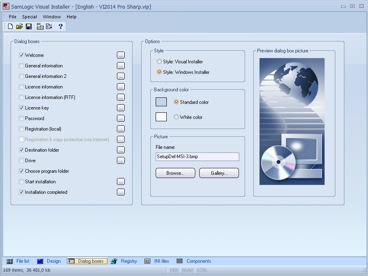 SamLogic Visual Installer - Installation Software / Setup Tool