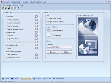 SamLogic Visual Installer Installation Software Setup