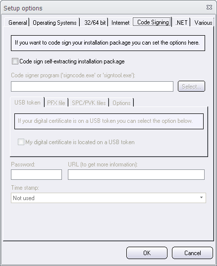 How to code sign a setup package / USB token (Visual Installer Tip)